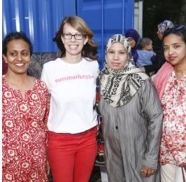 Viji, Susan Wright, summerlunch+ founder, Zakera, Hume - Photo by Drew Williamson.png