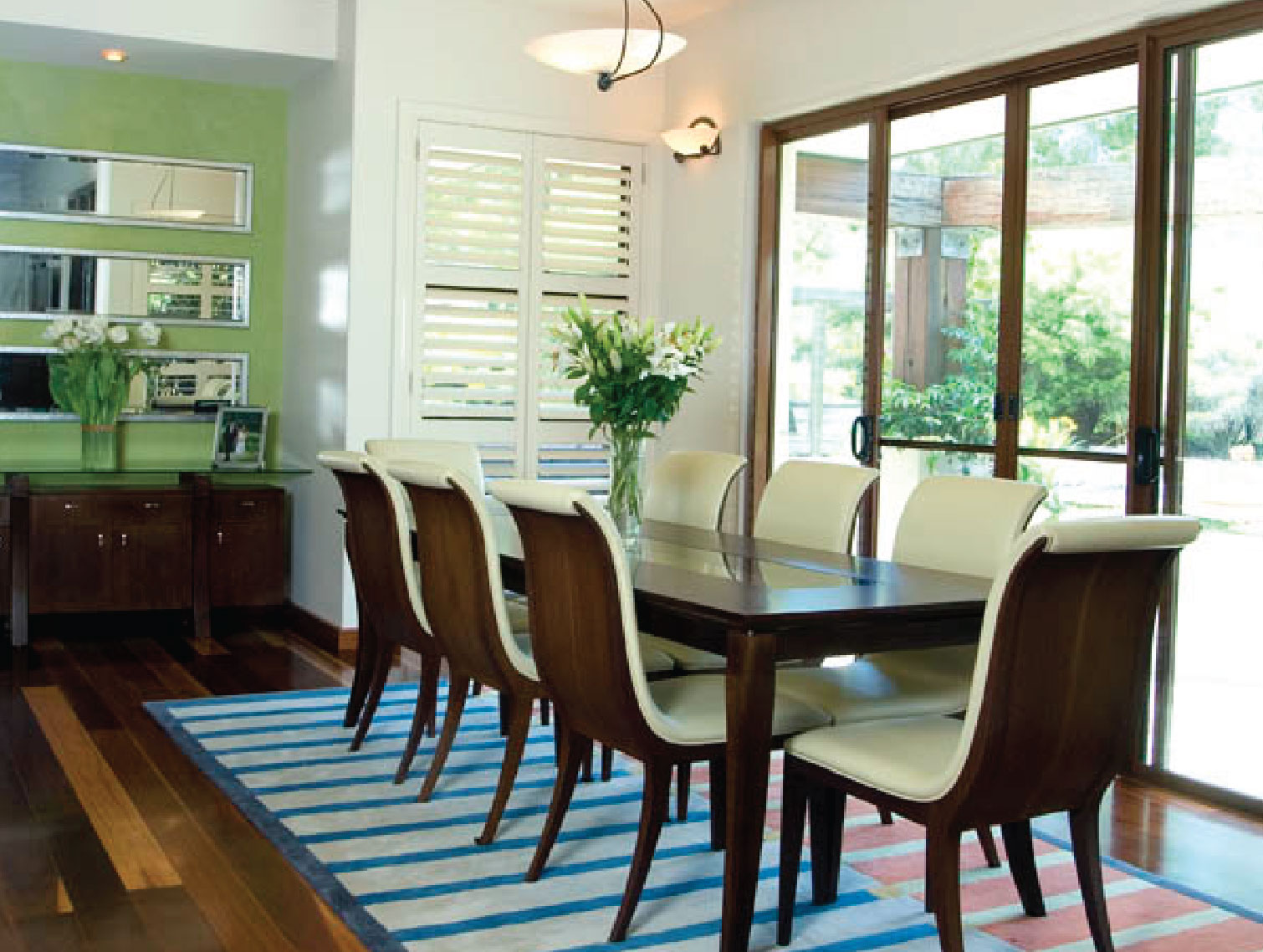 Dining Table: Custom Design by Ellie Roberts