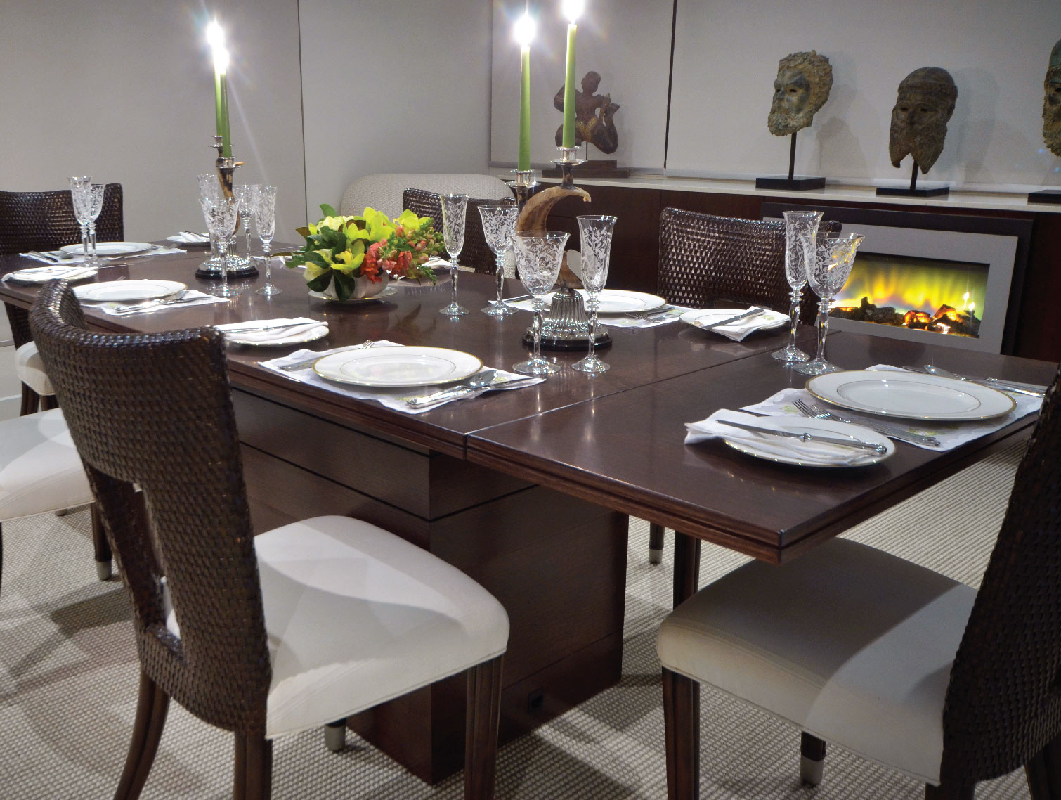 Combined Winter Living | Dining Room