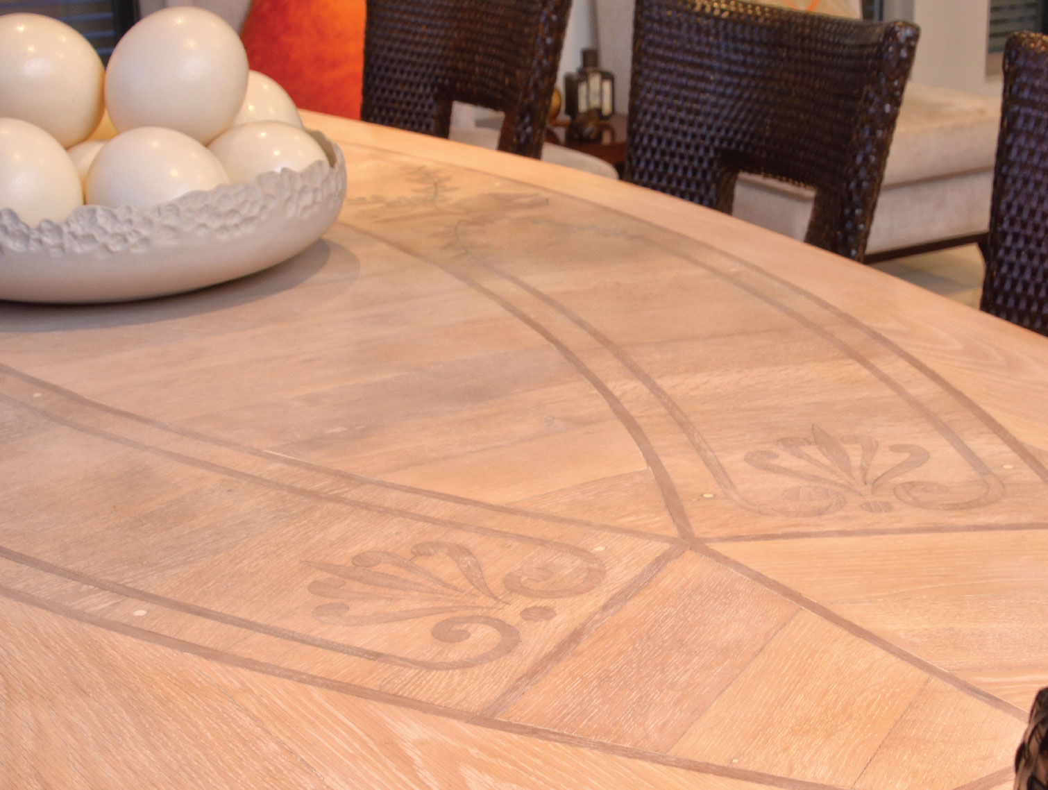 Marquetry Table