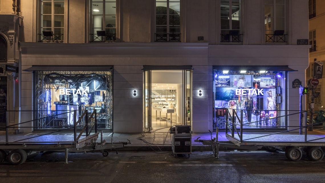 Alexandre de Betak's windows at Colette   Source: Courtesy