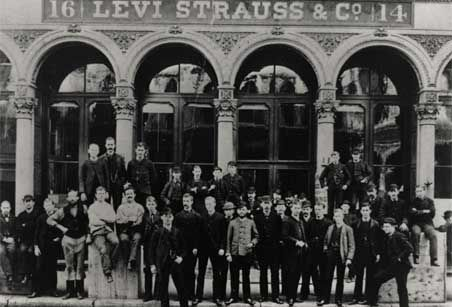 Levi's First Store, 1853,http://www.levi.com/US/en_US/about/history-heritage