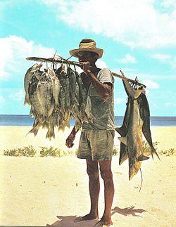 Africa fisherman