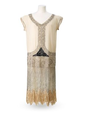 Reville and Rossiter Evening Gown, 1925-28