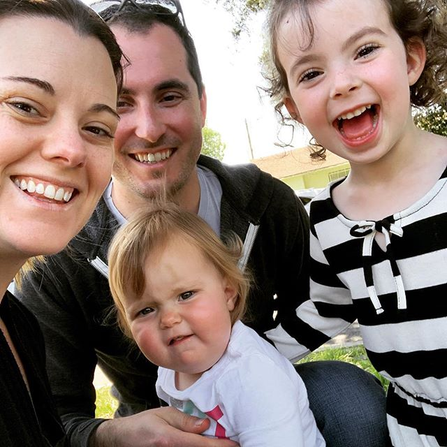 Our attempt at a family selfie last weekend!  So happy it's Friday!  It's been a long week and we both have some work travel ahead so this weekend is all about #familytime ⠀⠀⠀⠀⠀⠀⠀⠀⠀ ...and errands...it's always about errands! #workingmomlife#prepfortheweek ⠀⠀⠀⠀⠀⠀⠀⠀⠀ #outsource #balanceiseverything #werkingmama #werkwerkwerk #momswhowork #maternityleaveover #balanceisbullshit #findyourbalance #nevernotamom #makeworkworkforyou #liveworklead