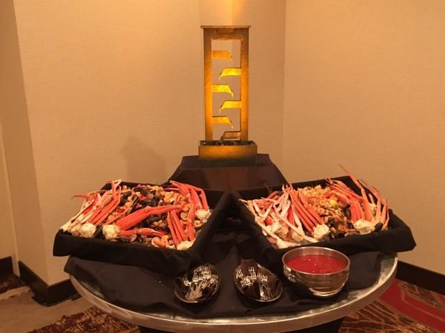 Sea food display
