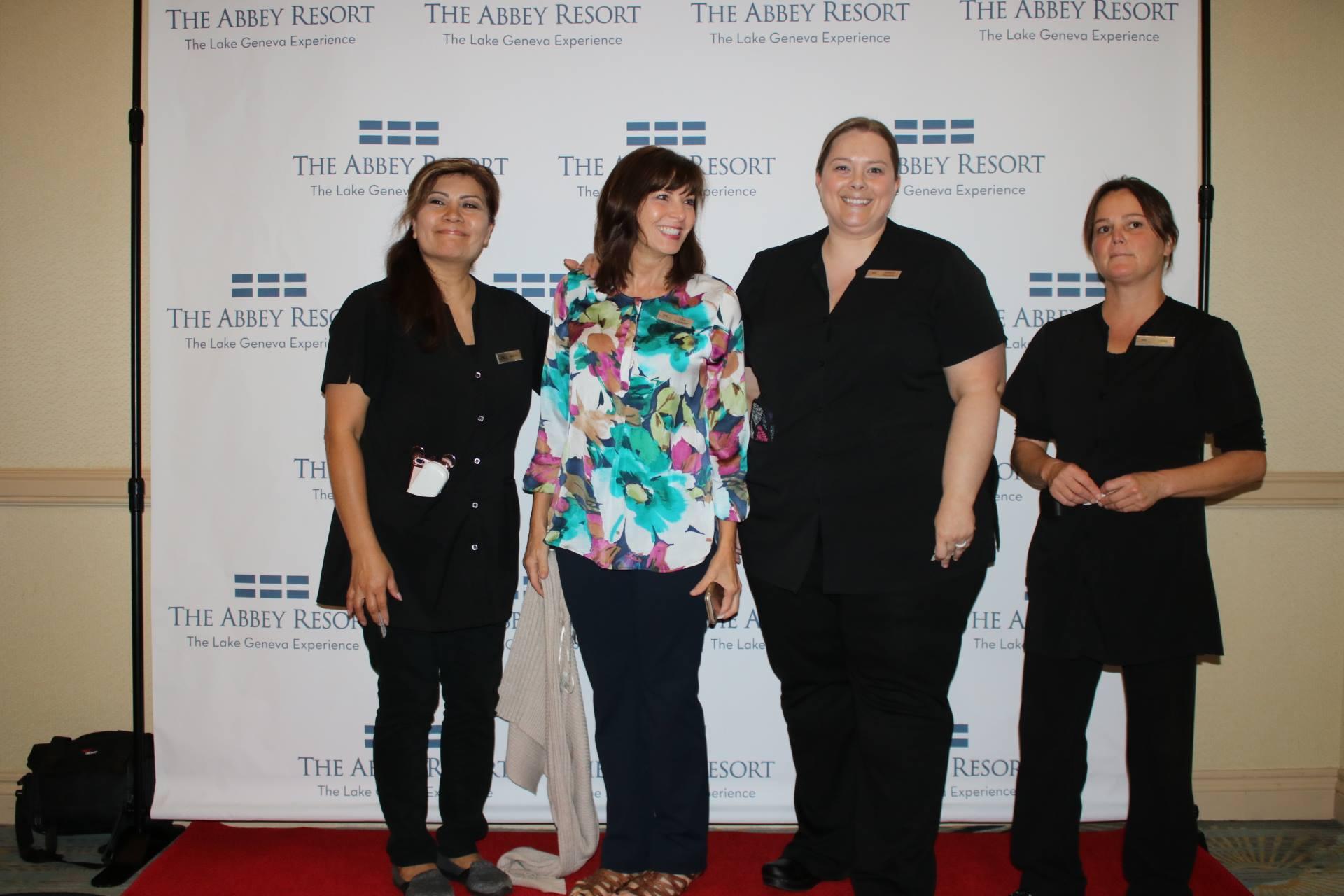 Red carpet arrivals - Avani Spa