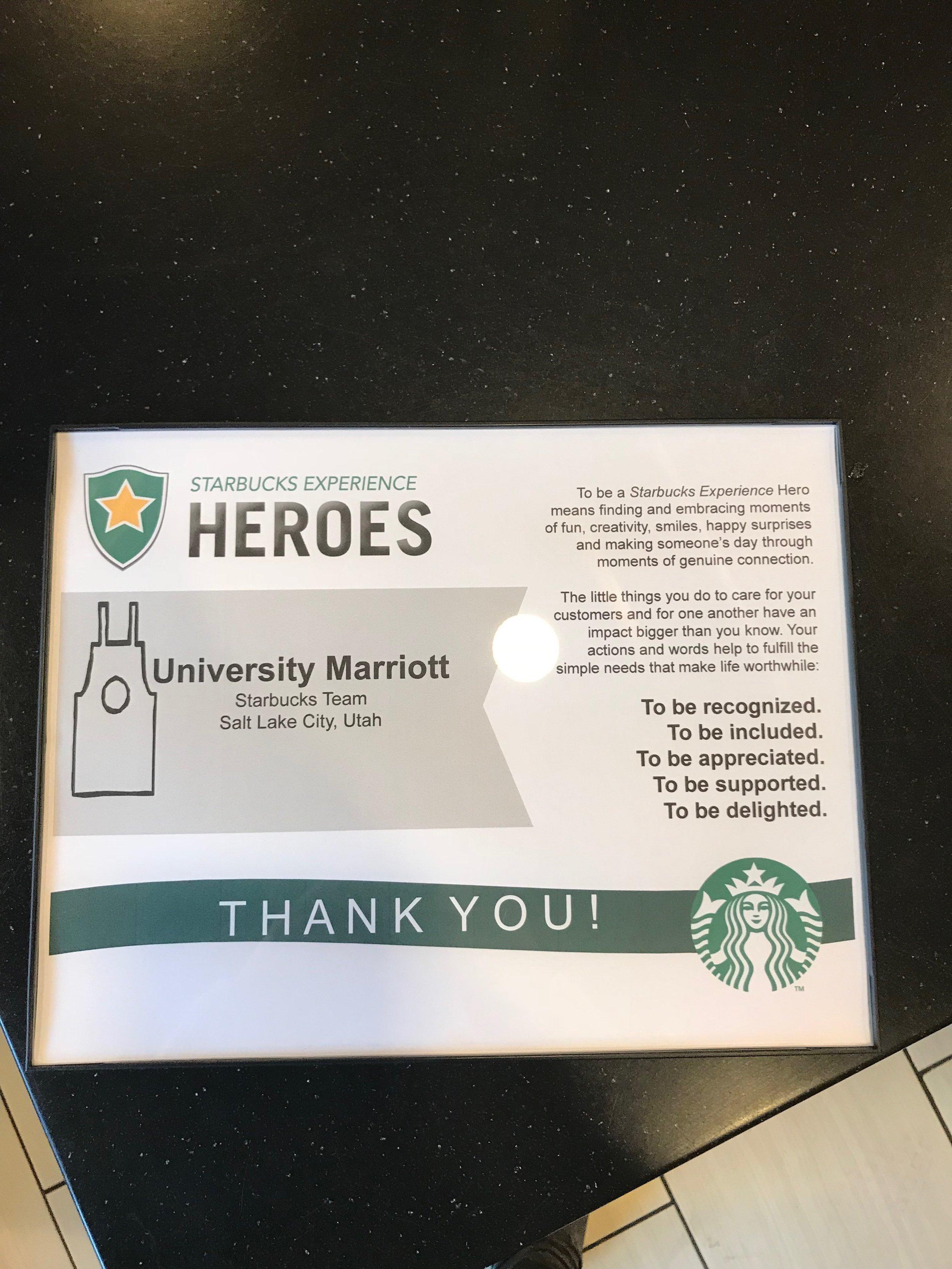 Congratulation's Starbucks Artist Great Job!!!