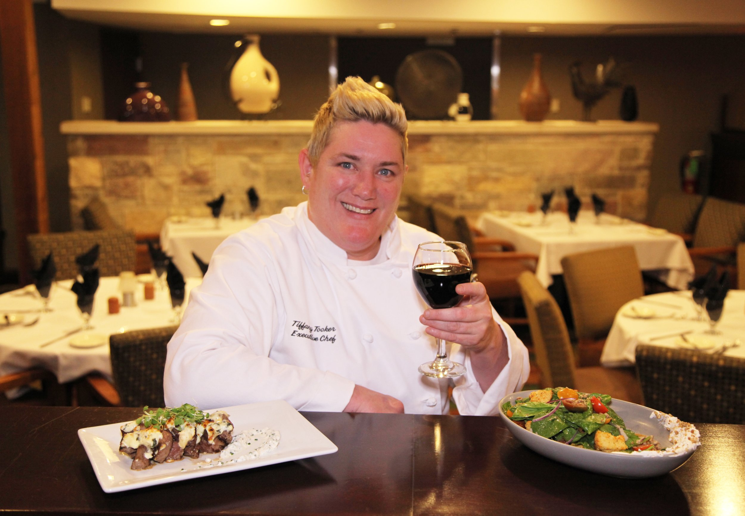 Executive Chef Tiffany Tooker.
