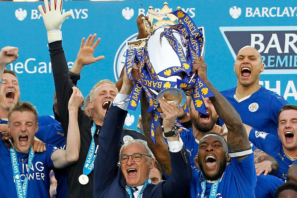 Foxes go from relegation candidates to champions in 2015/16's fairytale story
