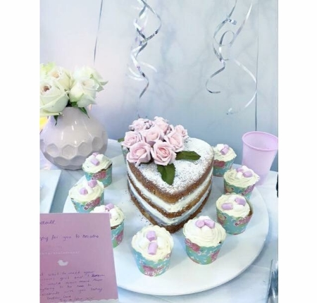 Cake & Cupcakes - My gorgeous friend made & gifted me this. Let me know if you would like her details.