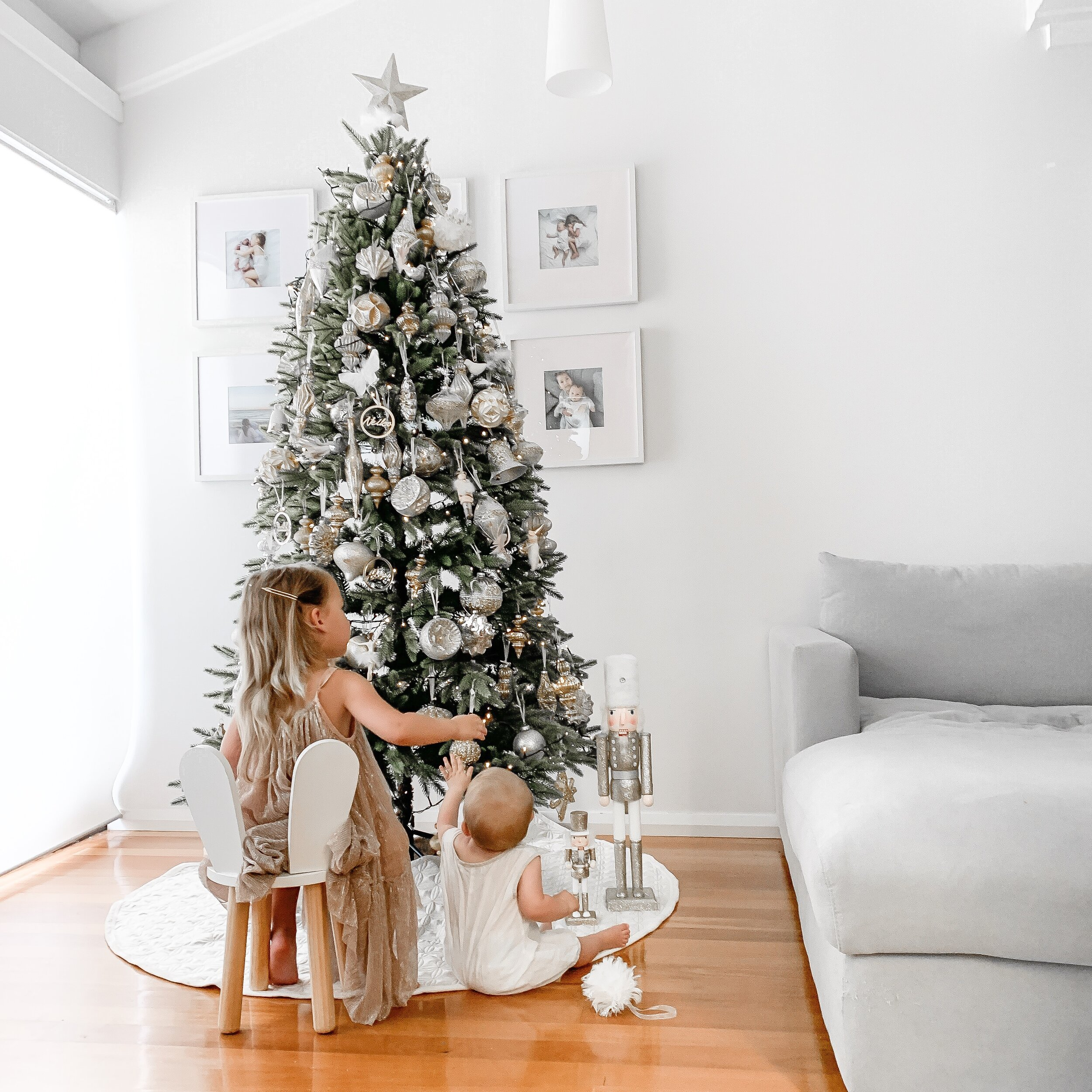 Family Christmas Tree Reveal & How I