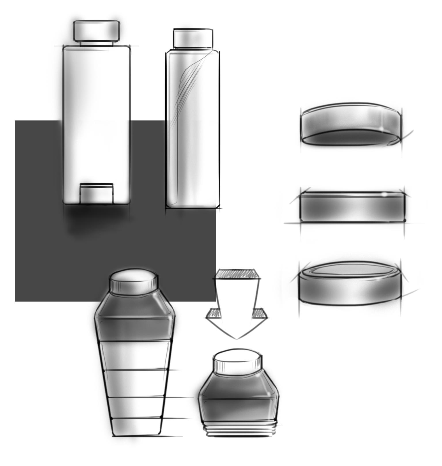 Sample Product Sketches/Renderings