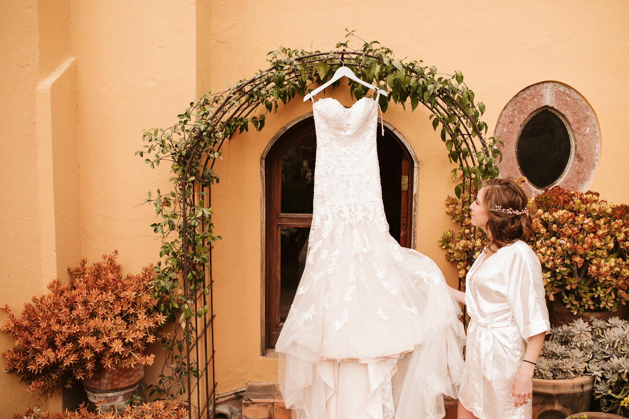 wedding dress san miguel