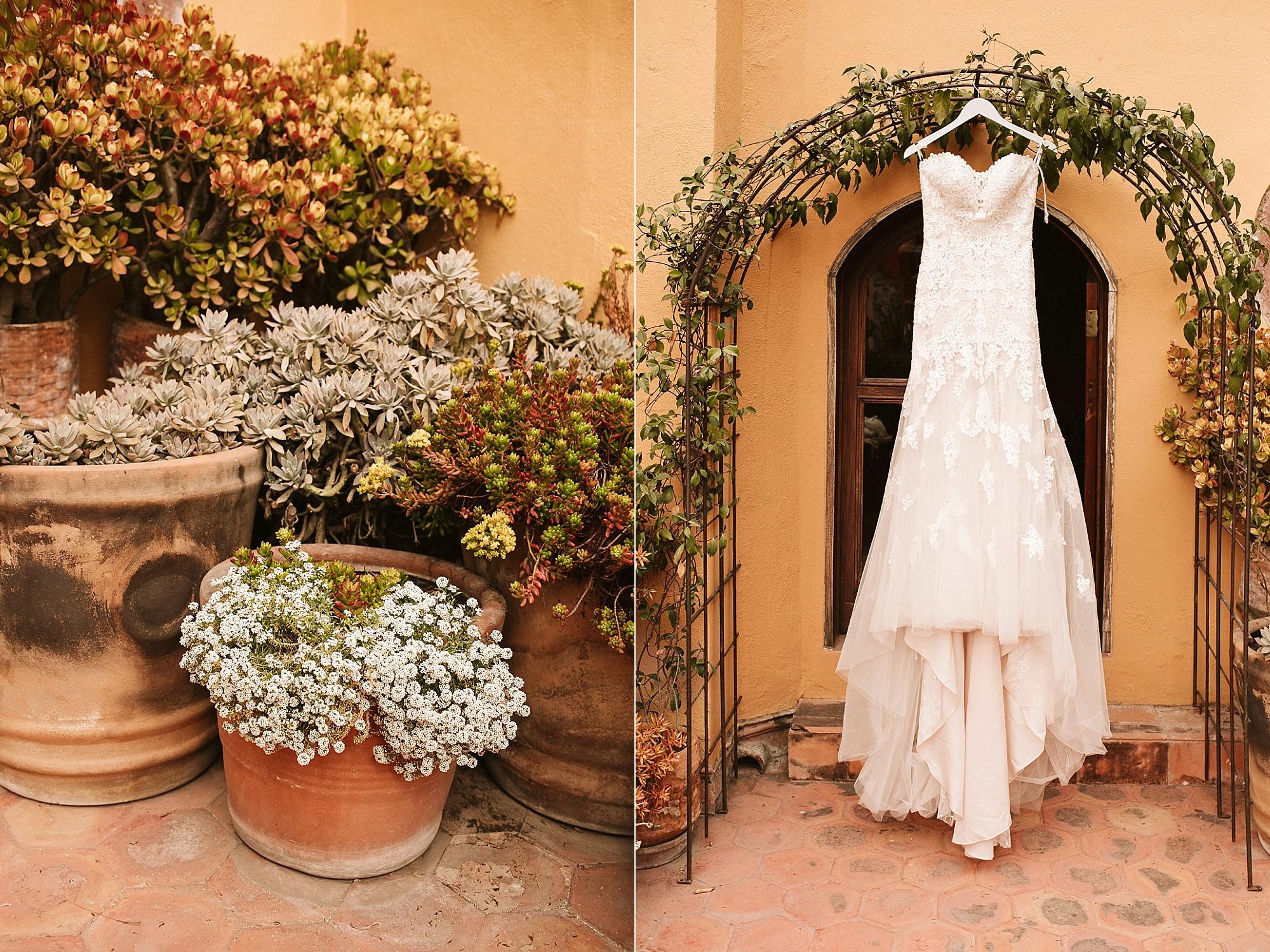 Wedding dress san miguel de allende
