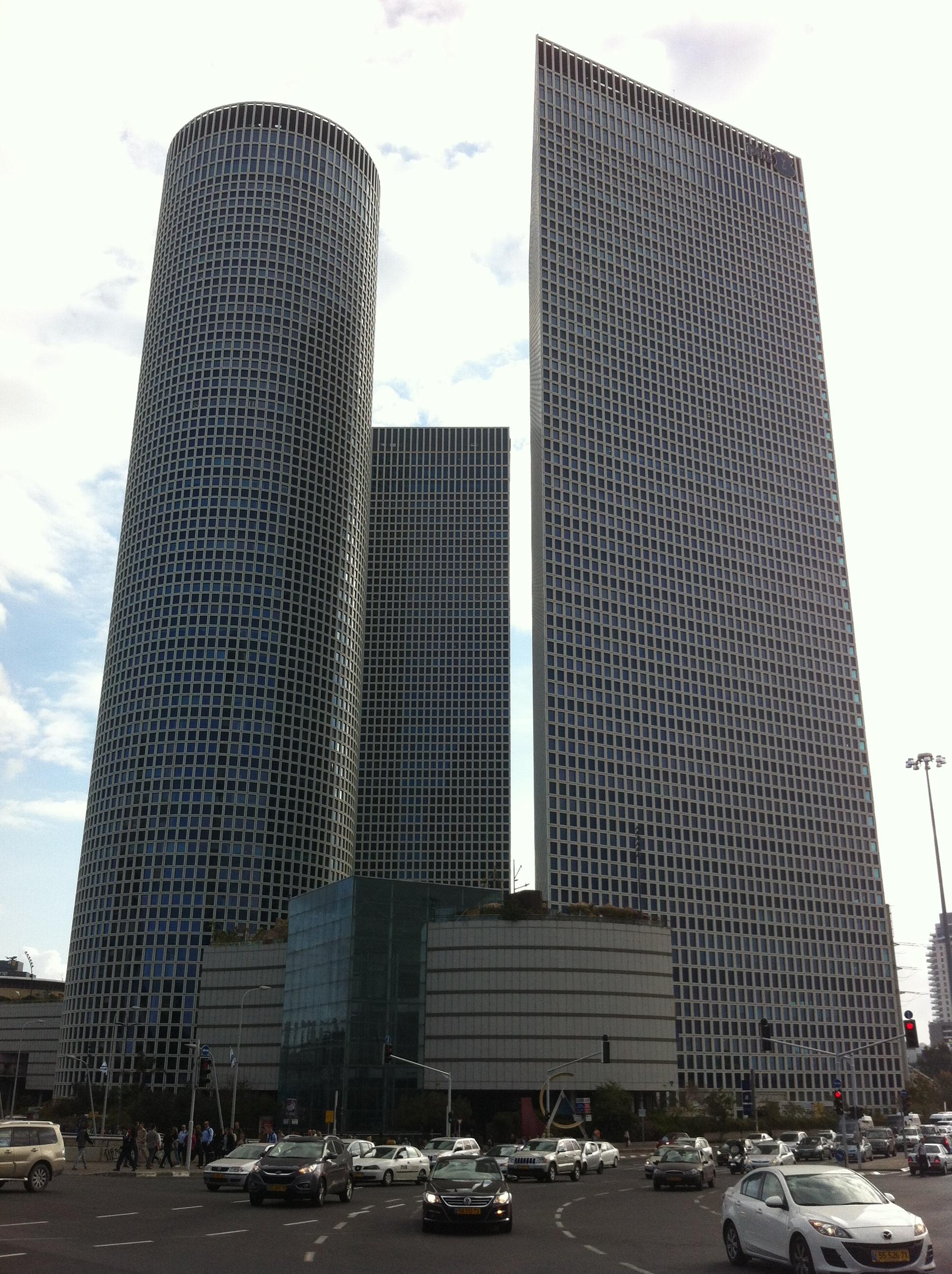 אייקון של מרכז העסקים הראשי. מרכז עזריאלי