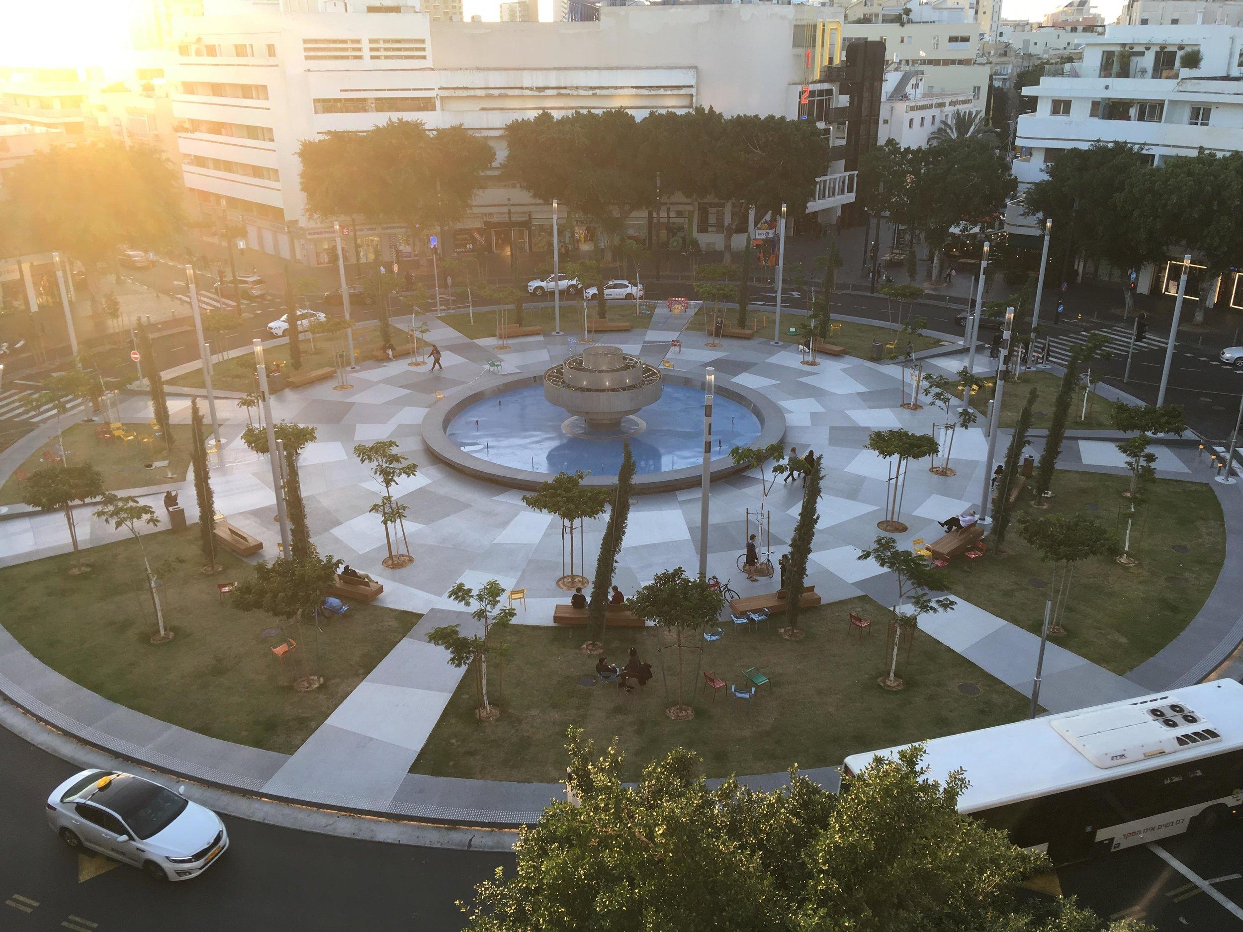 כיכר דיזנגוף המחודשת, 2018
