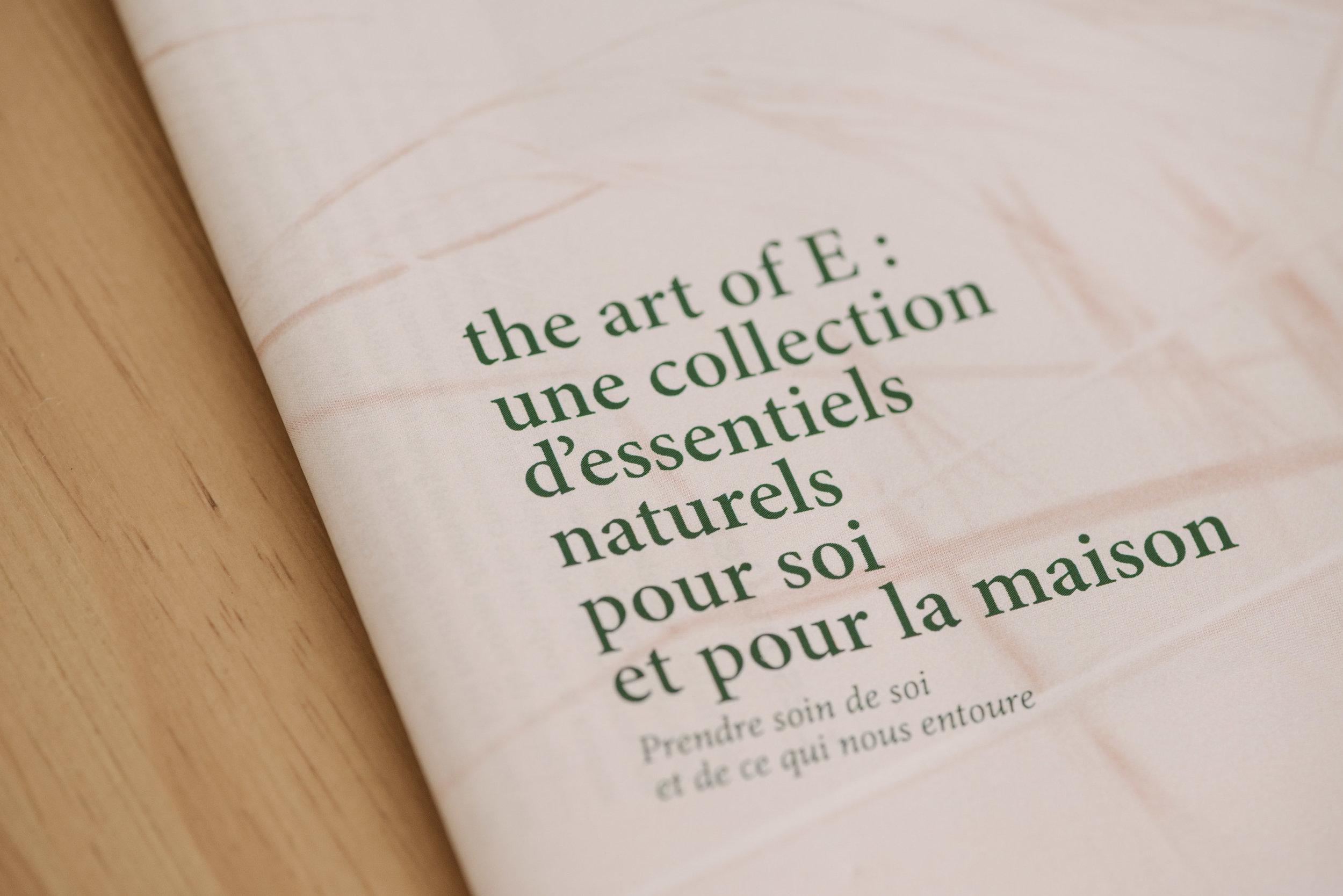 The Art of E - Olivia Thébaut