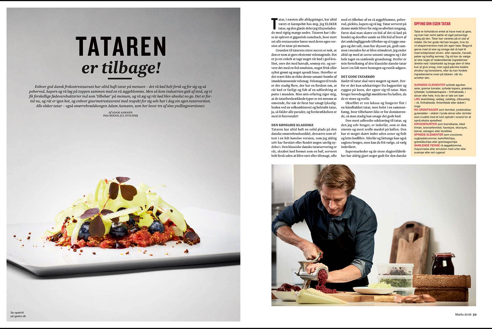 gastro magazine   editorial