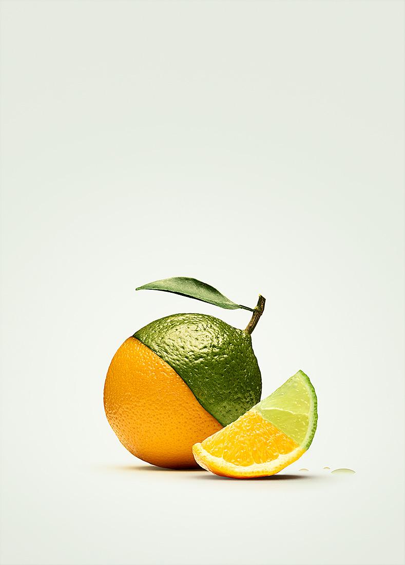 Personal work   Orange lime