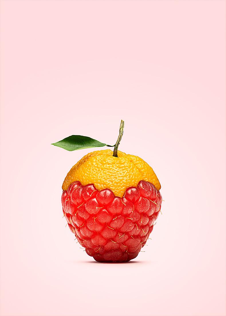 Personal work   Orange raspberry