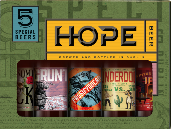 Hope Beer, Brewed and Bottled in Dublin -