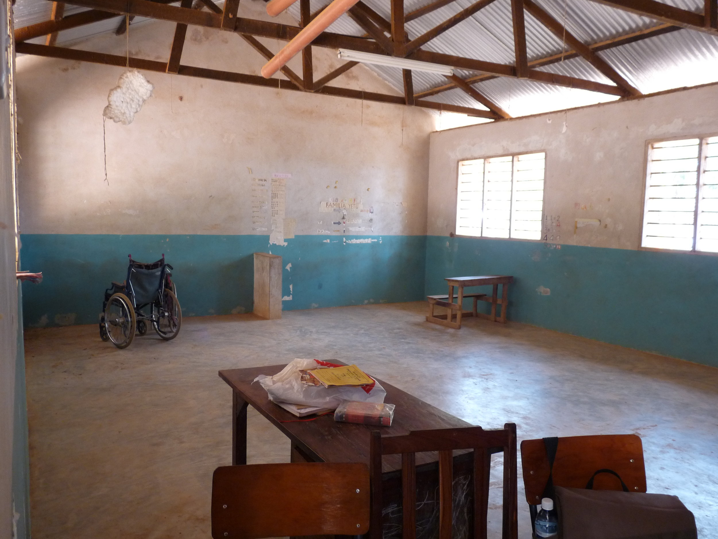 An SEN classroom in a Kenyan Primary School