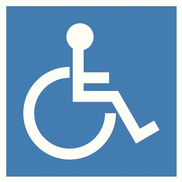 Universal disability symbol