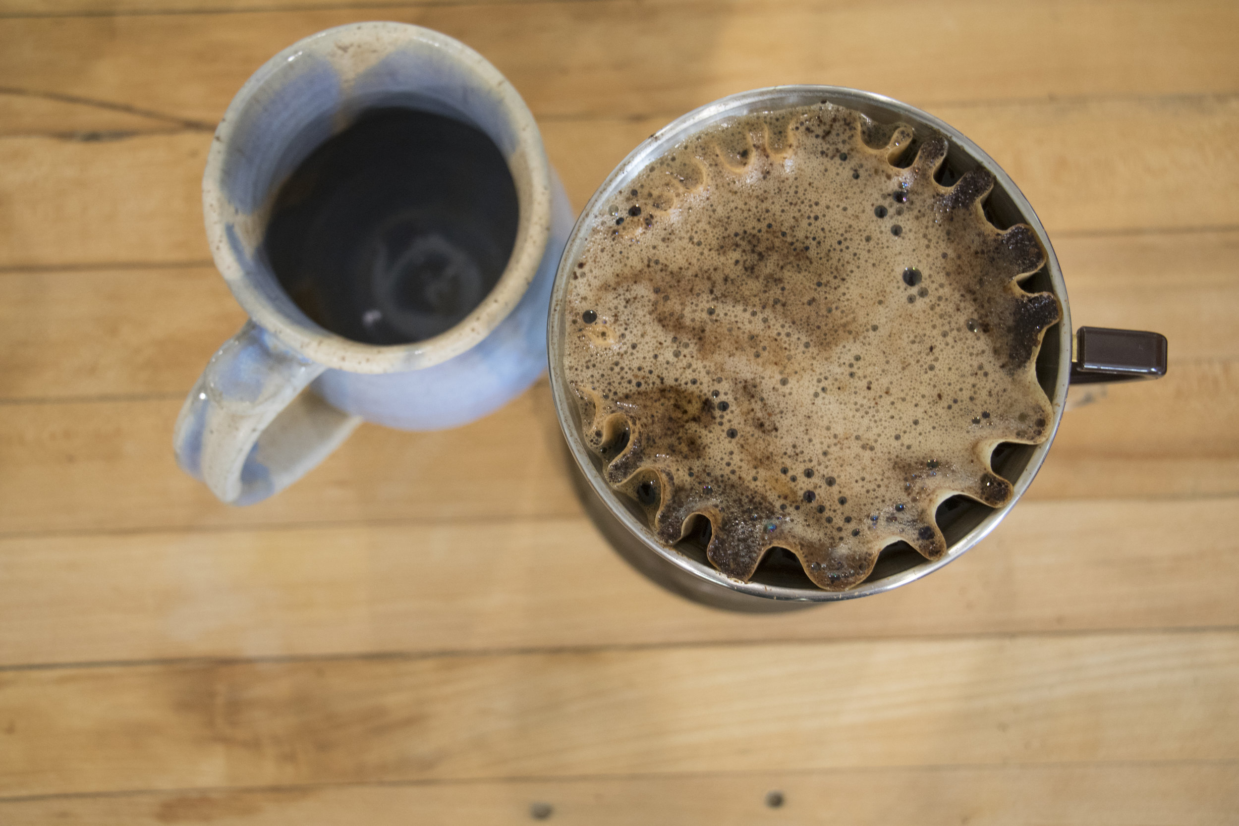 Brewing pour-over coffee takes a creative approach and the patience to try new things.