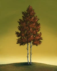 JD Logan focuses on elements of nature in his work for a calming effect.