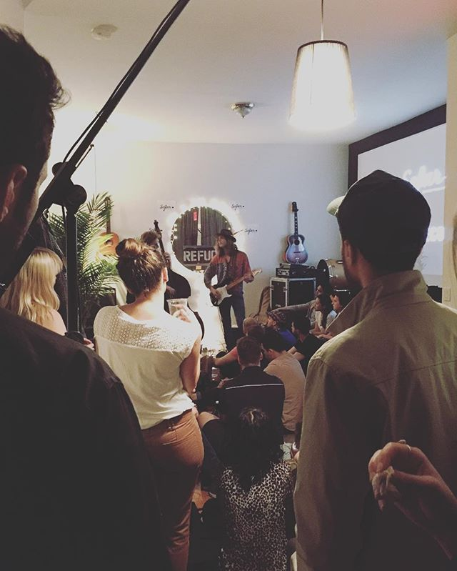 @cavernsband kicking off a warm spring night @sofarnyc action. Mmm jams, love these jams!