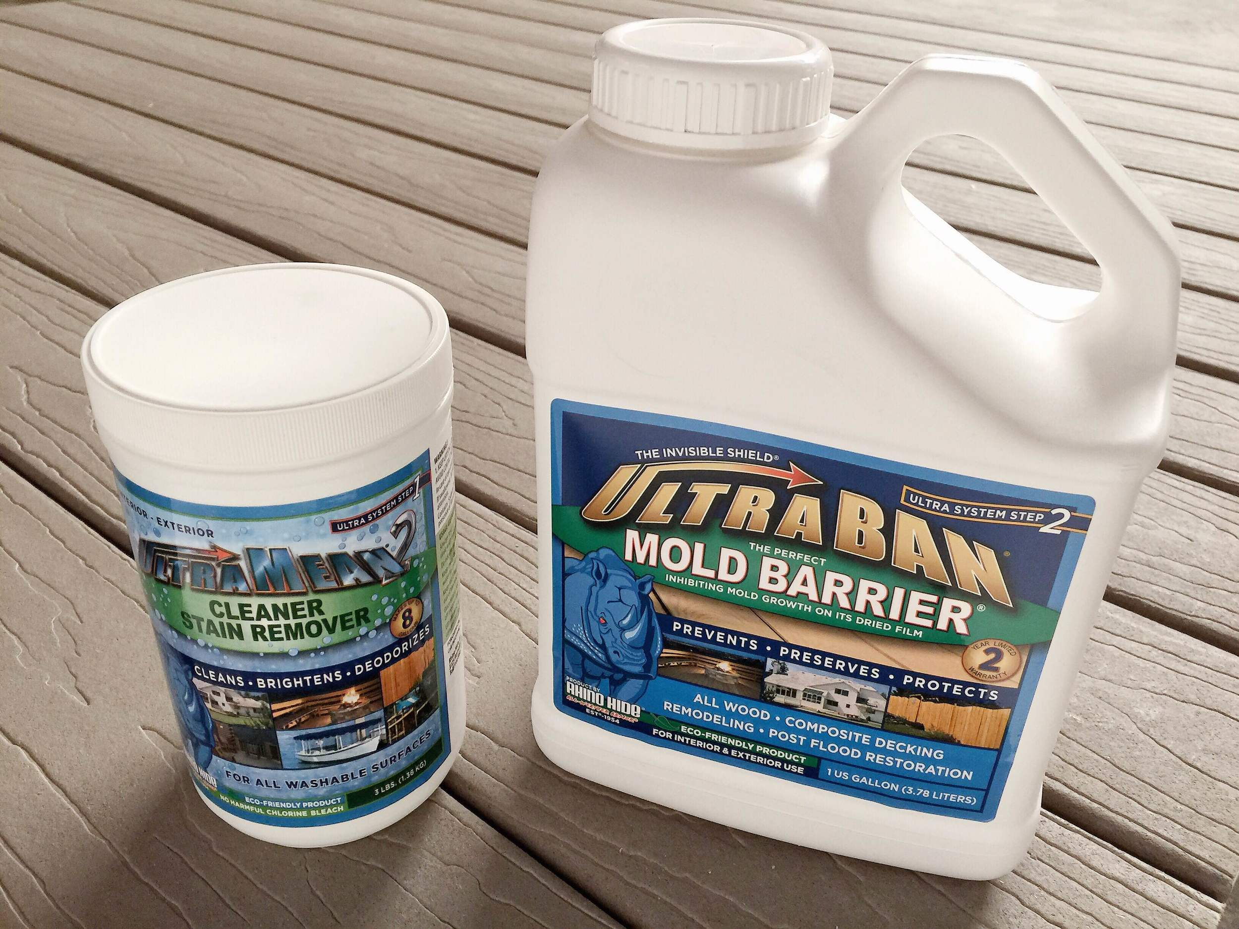 decking cleaner and mold barrier