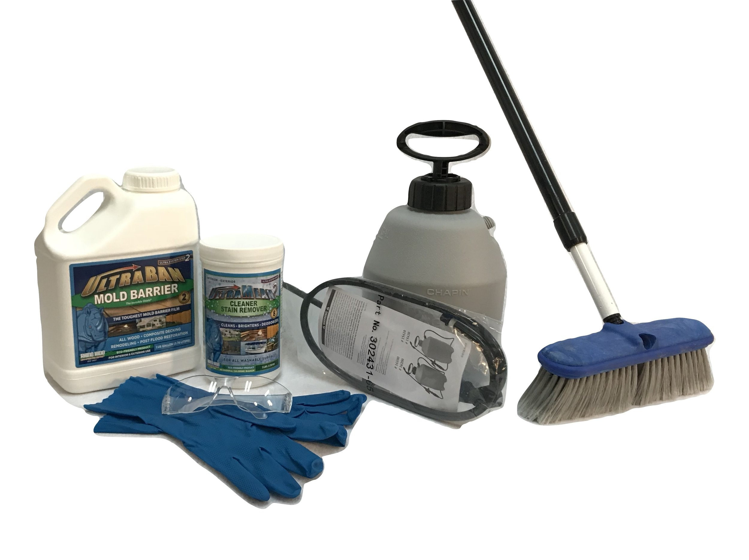 Composite Deck Maintenance Kit - Want to skip the store? We gathered up all the cleaning essentials to get you started with our ready-to-go kit.