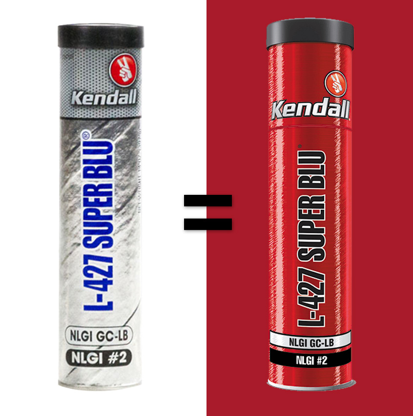 THE NEW AND IMPROVED KENDALL L-427 Super Blu® NLGI 2 Grease