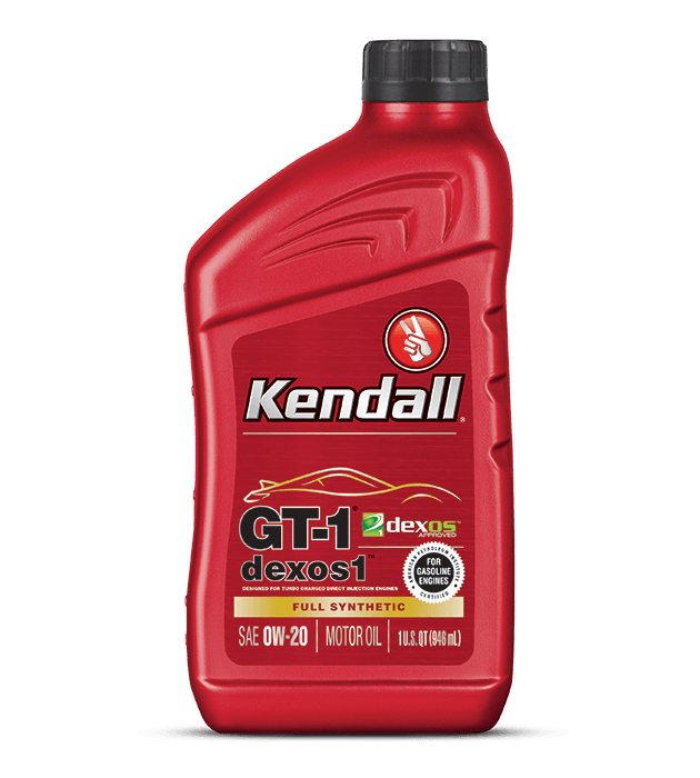Kendall GT-1 Dexos1 Full Synthetic Engine Oil