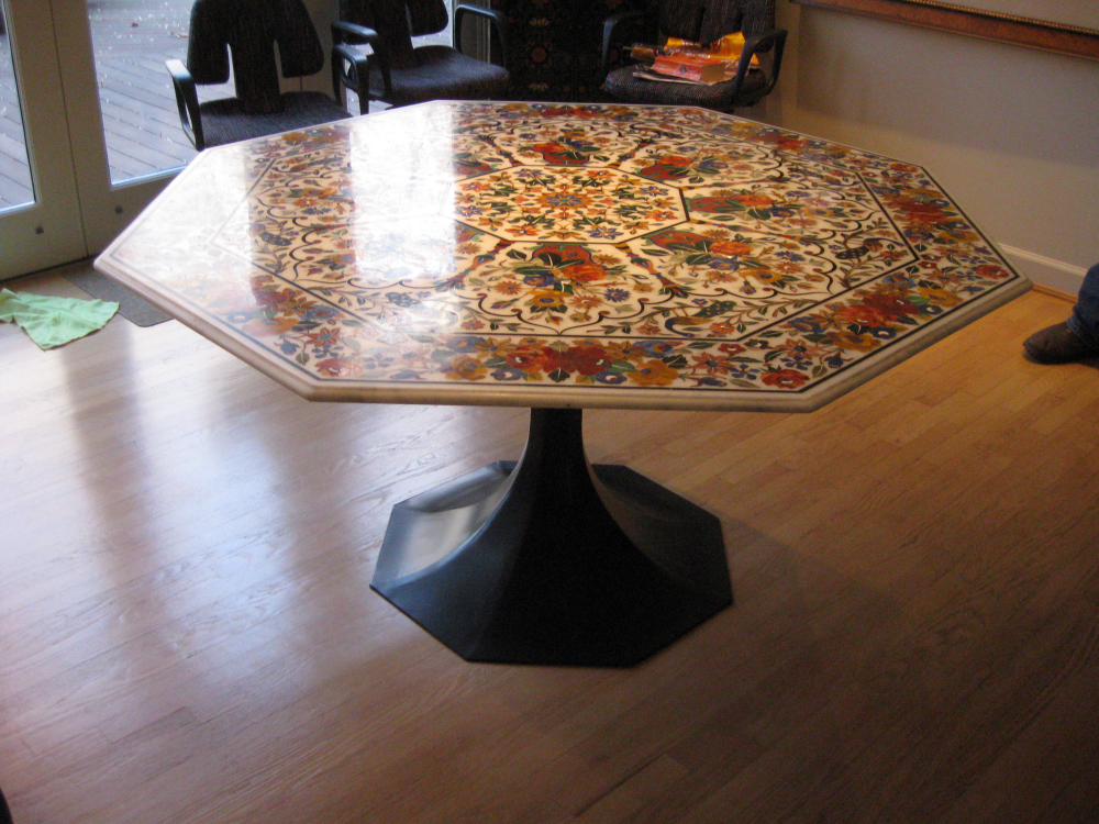 Here is an example were our customer provided the top and we crafted the base.
