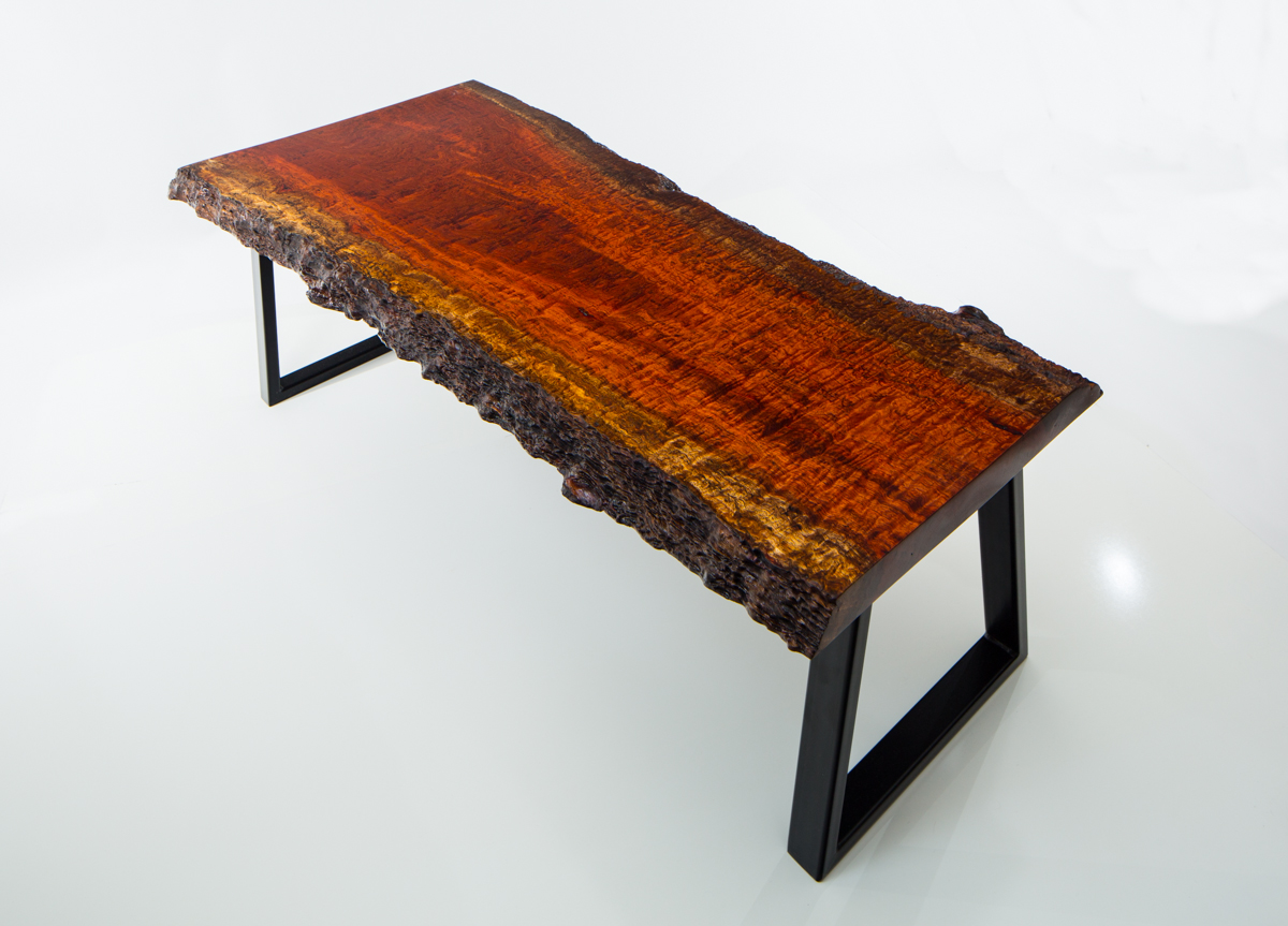 Here is another example using a beautiful piece of hardwood.