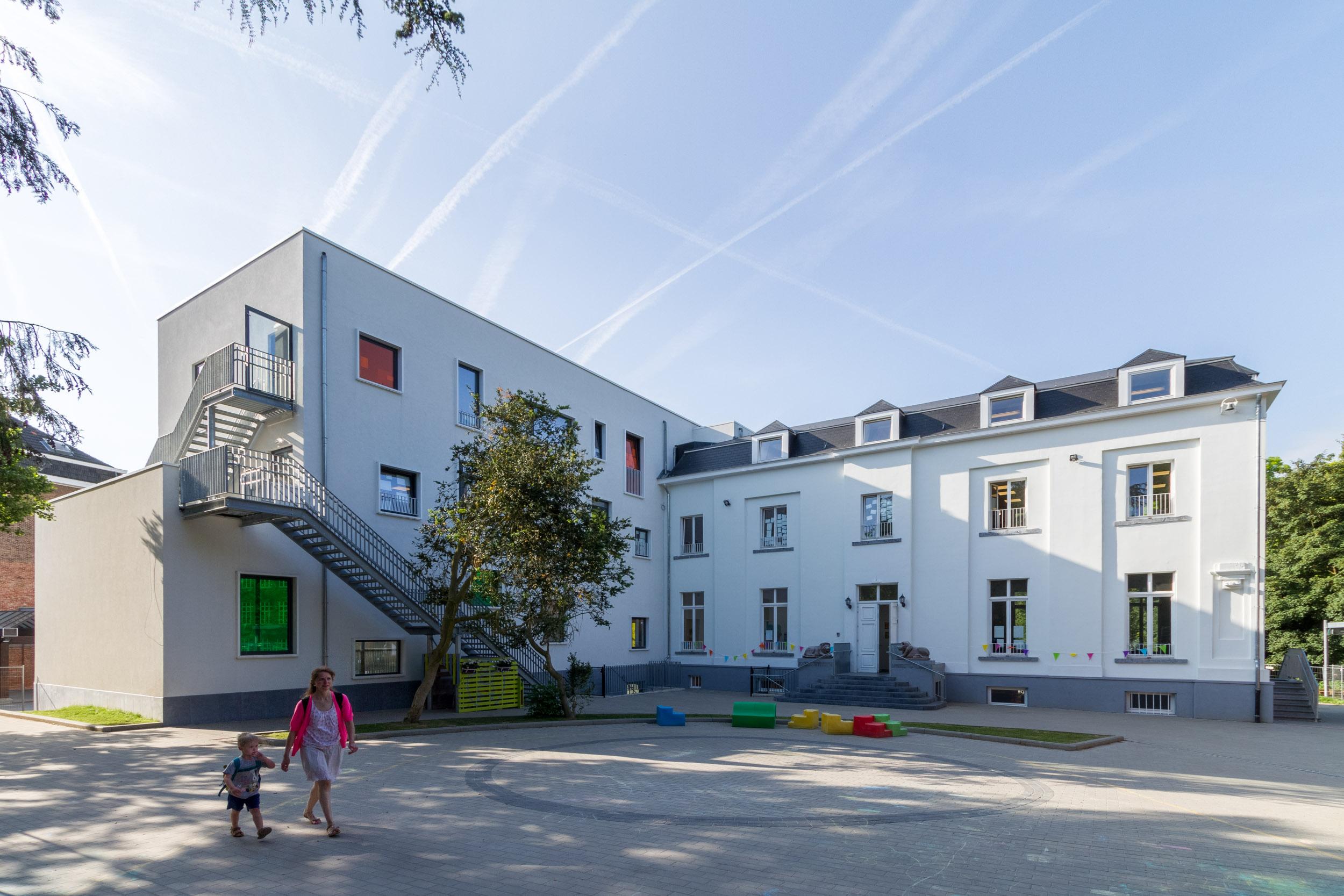 Heilig Hartschool by OSK-AR architecten