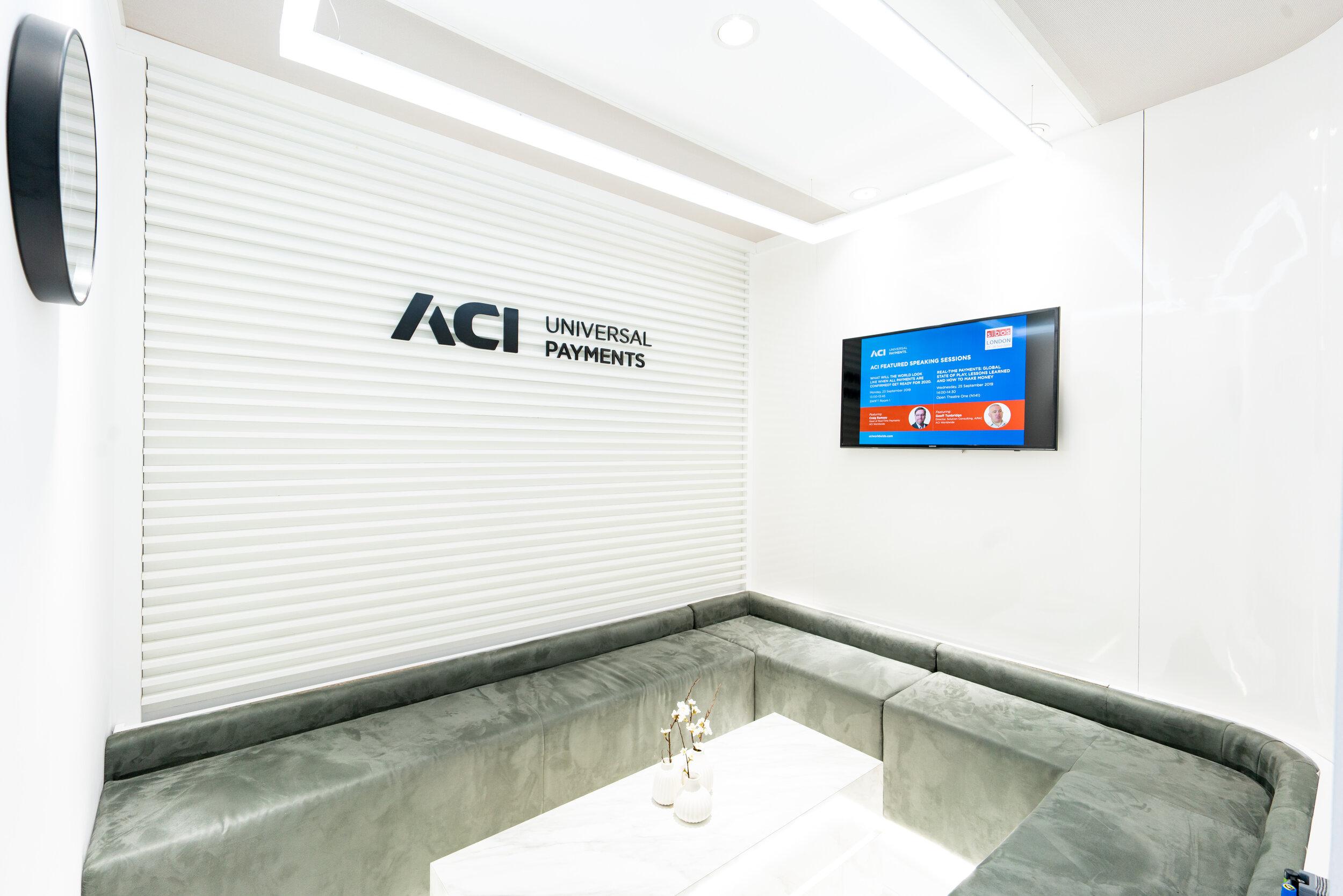 ACI Meeting Space. Sibos 2019.