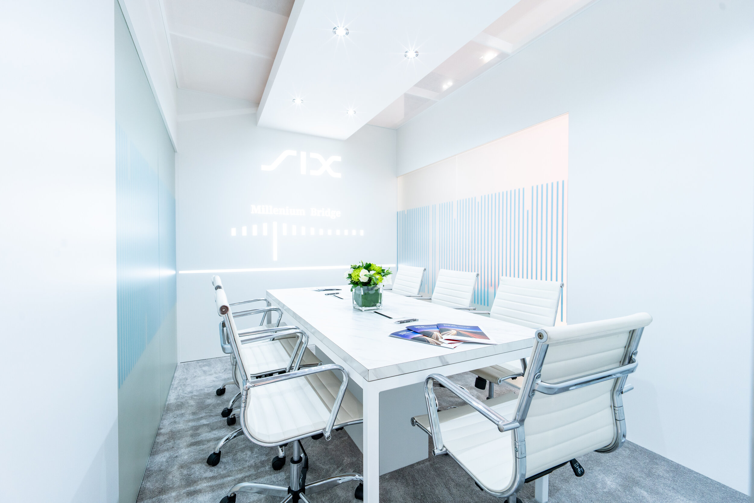 SIX at Sibos. Meeting Room.