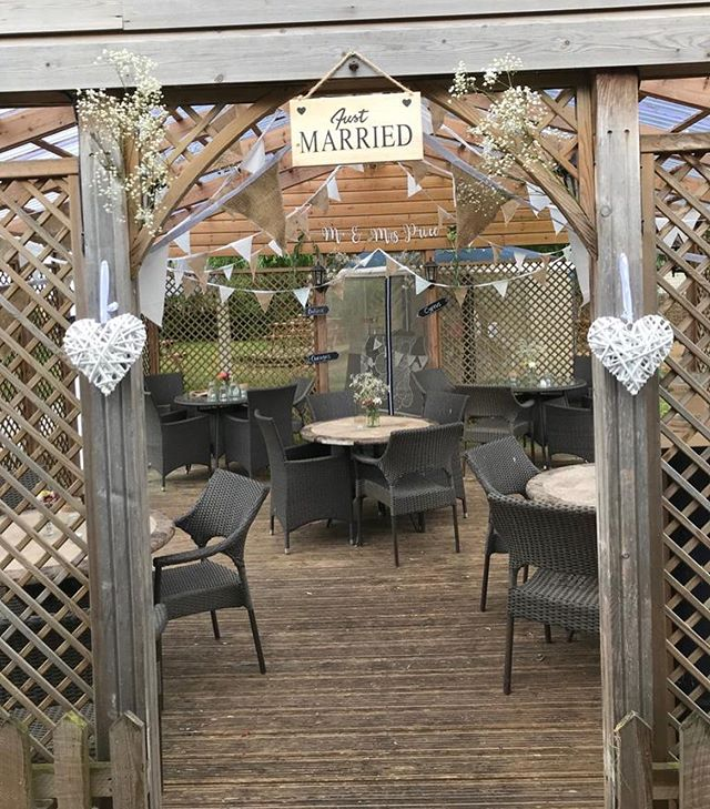 All ready for our wedding party to arrive this evening. Due to this private function our garden is out of bounds, however the bar is open as usual. We'd also like to say a huge congratulations to Eddie and Gemma Price, and cannot wait to see the newly wed couple and all their guests tonight👰🏼🤵🏼🍾🥂
