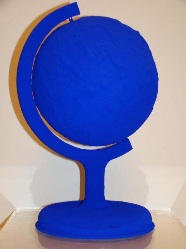 """Blue Earth""   1957, Galerie Omagh, Paris"