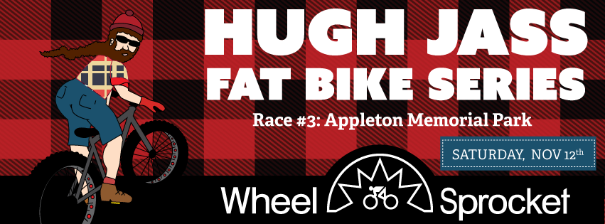 Hugh Jass Race #3 takes us to Appleton, WI to our local favorite: Appleton Memorial Park  This will be a great race for spectators and will be a fun stroll through the park. Multiple laps and obstacles throughout will keep you on your toes... and hopefully upright. :)  10 points for wearing flannel!!