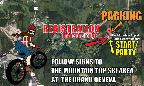 FOLLOW THE SIGNS TO THE MOUNTAIN TOP!
