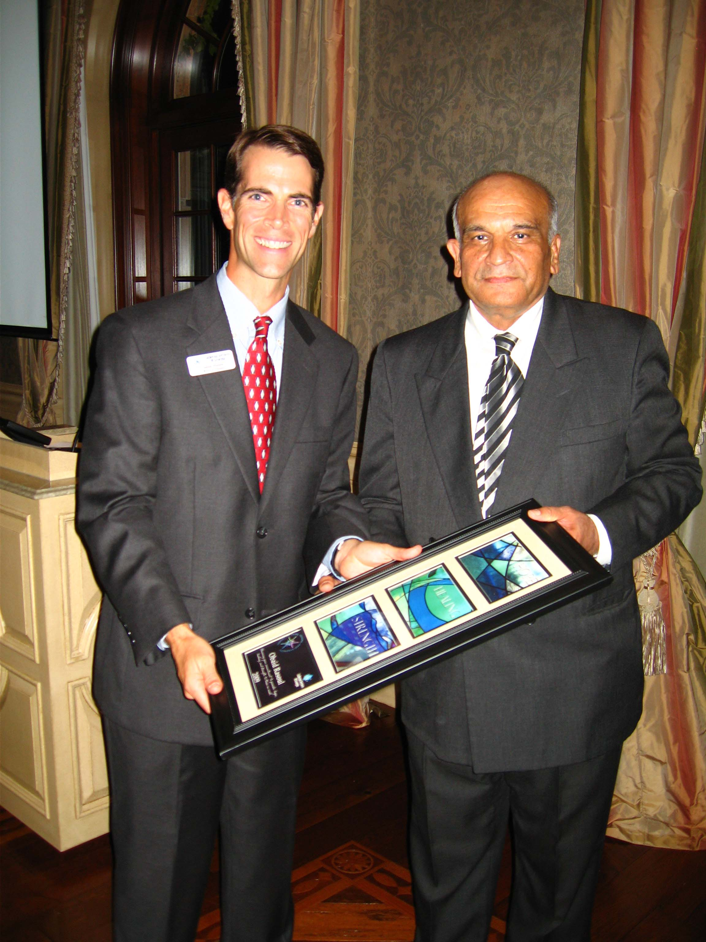 IN 2009, Obaid was honored with LSG's Heroes of Hope award.