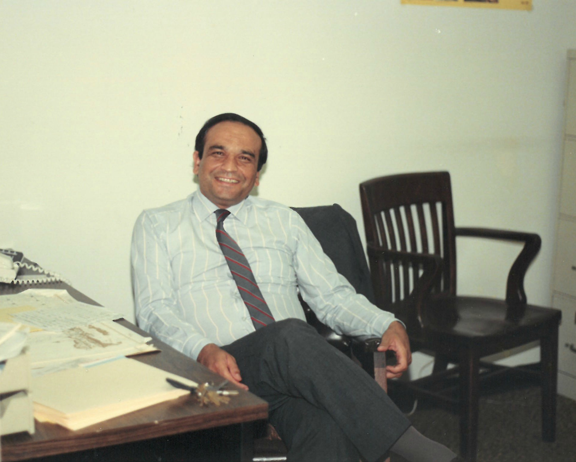 OBAID RASOUL STARTED WORKING AS A JOB COUNSELOR WITH LSG IN 1983. OVER THE YEARS, HE HAS HELPED MANY REFUGEES FIND THEIR FIRST JOB.