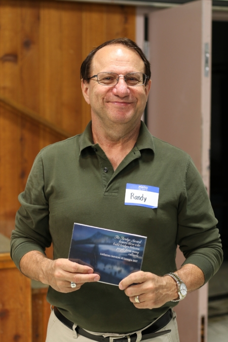 Randy Potts, who leads the Youth Group at Christ the Shepherd Lutheran Church
