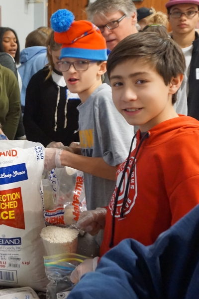 Rice for Refugees on MLK Day of Service