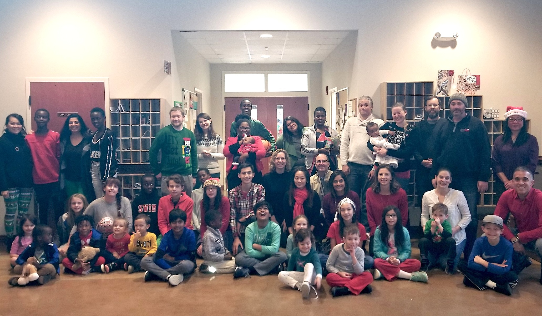 Little Helpers once again helps make the holidays special for refugee families served by Inspiritus