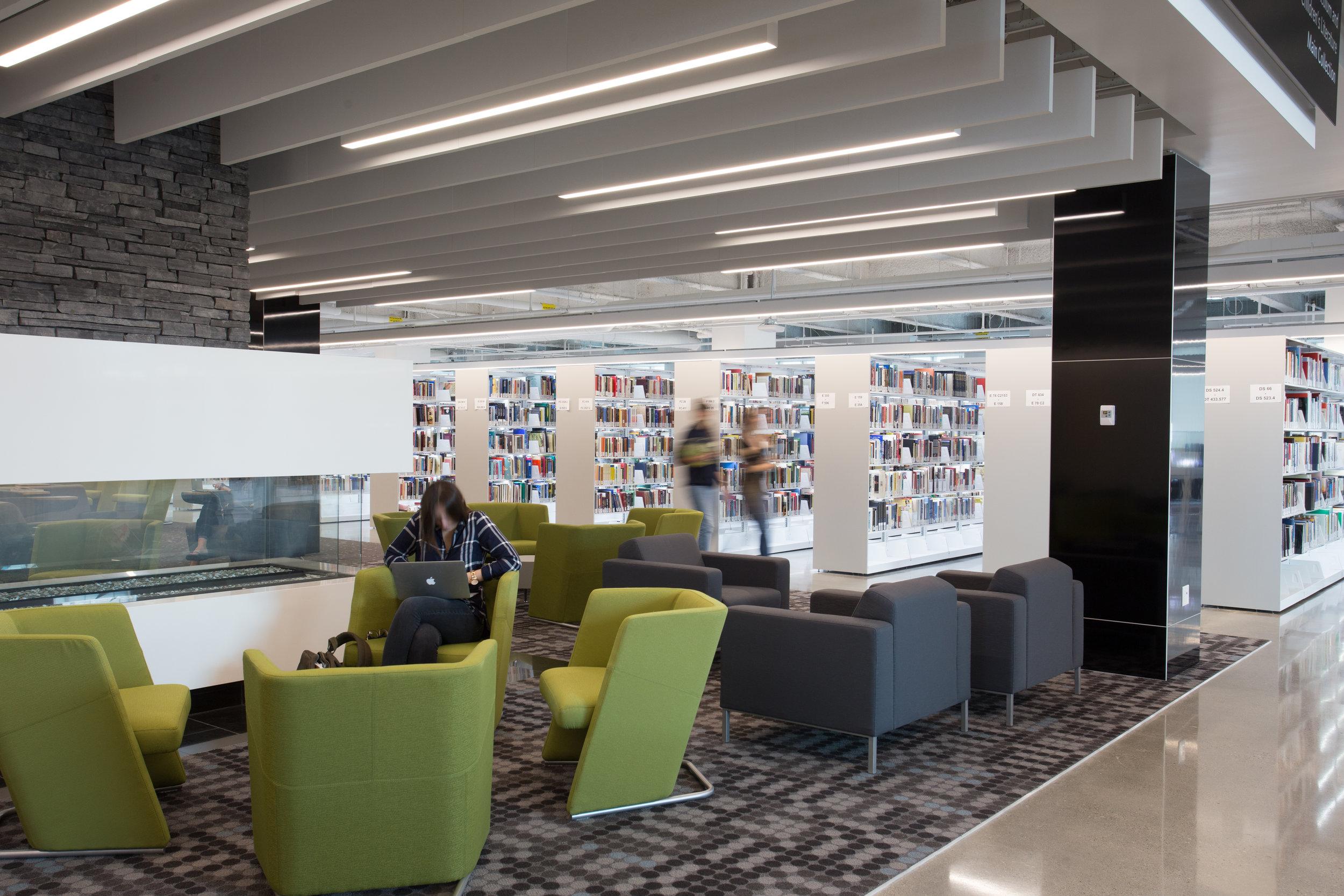 Riddell Library, Mount Royal University